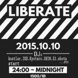 """LIBERATE WEEKLY MIX vol.38""""October Brand-new R&B""""mixed by DJ IKE"""