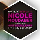 gigisquillante live-set Magazzini Generali Milano 21/11/2012 con Nicole Moudaber