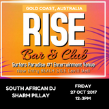 LIVE SET - RISE BAR & CLUB - GOLD COAST - AUSTRALIA - 28 OCT 2017