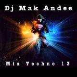 Mix Techno 13 By Dj Mak Andee