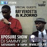 DJ Sammy Jay - Xposure Show 93 - Ray Vendetta & K Zorro