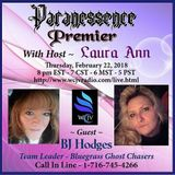 THE PREMIER OF PARANESSENCE RADIO with Host LAURA ANN_20180222_BJ Hodges
