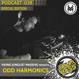 Drum and Bass Night PODCAST #038 - Odd Harmonics (VJM Special Edition)