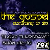 """I Love Thursdays"" - Deep Soulful house music radio show"