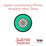 Ep. 138: Apple's Revolutionary iPhone recycling robot, Daisy