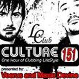 Le Club Culture Radio Show 151 (Veerus & Maxie Devine)