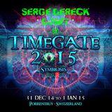 Serge Dereck @ TimeGate Symbiosis 2014-2015 Biolive Switzerland DjSet 2014-12-31