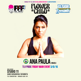 DJ Ana Paula Tel Aviv Pride 2016 Podcast