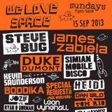 James Zabiela - Live at We Love, Space Ibiza (15-09-2013)
