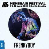 Membrain Festival 2018 DJ Set FrenkyBoy