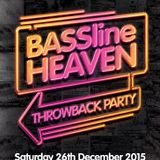 CHRIS K BASSLINE HEAVEN THROWBACK PARTY MINI MIX