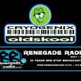 Cryogenix Old Skool - @JonSamplesDJ - 08-09-17 RenegadeRadio.com 10th Birthday