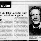 John Cage | Fluxradio | The Music and Performance Pratice of Fluxus