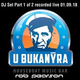 Rob Pearson - 20 Years of Bukanyr Boat Party, Prague, Czech Republic, 01.09.18 Part 1