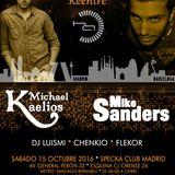 Mike Sanders  live harmony Trance@Specka Club Madrid,15Oct16