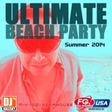 ULTIMATE BEACH PARTY 100% DEEP HOUSE