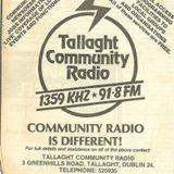 Tallaght Community Radio Anorak Show - 3rd March, 1988