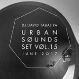 Urban Sounds Set Vol. 15 - June 2017