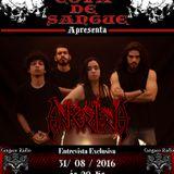 Programa Cova de Sangue - Cangaço Rádio Rock - #16 - Entrevista com a Banda Ankerkeria (31.08.2016)