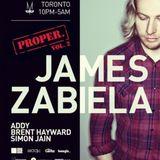 James Zabiela - Live @ Moskito Club (Toronto) (23-02-2013)