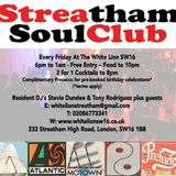 Streatham Soul Club Live Set - 11.11.16