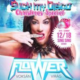 DJ FLOWER aka Virag Voksan for SUCK MY DISCO Christmas Special 2k15