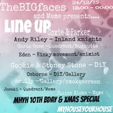 TheBIGfaces & Meme presents. MHYH 10th bday & Christmas - Andy Riley