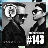 Get Physical Radio #143 mixed by Kaiserdisco