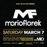 WIRED with Mario Florek live at The Mid Chicago 03-07-2015