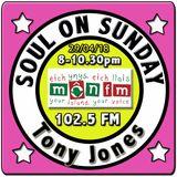 Soul On Sunday 29/04/18, Tony Jones, MônFM Radio * F A V  * B A N D S * Northern Soul & Motown *