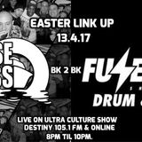 Cruise 'n' Bass - Easter 2017 Takeover Show BK 2 Bk with Fuzebox Live on Destiny 105.1FM