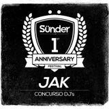 Jak @ Concurso Aniversario Sünder Club