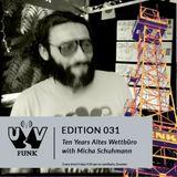 UV Funk 031: Ten Years Altes Wettbüro with Micha Schuhmann