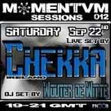 Momentvm 012 - Chekka (live set) - Wouter de Witte - 2012-09-22
