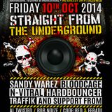 Twisted's Darkside Podcast 208: Traffik - Impact: Straight from the Underground Mix #3 - LIVE