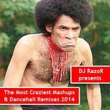 DJ RazoR Presents The Most Craziest Mashups & Dancehall Remixes 2014