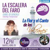 LA ESCALERA DEL FARO CON ISABEL DE GONZALO-04-09-19-LA FLOR Y EL CANTO DE LOS VOLCANES