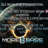 DJ Bob E B's Tranced Fuzion Ep 030 Wavesound & Bob E B B2B Special - MoreBass.com (Aired 16-03-17)