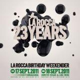 23 YEARS LA ROCCA SHOW (September 2011)