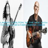 LARRY CARLTON 'IN THE MIX' WITH THE GROOVEFATHER NORRIE LYNCH