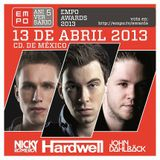 Nicky Romero - Live at EMPO Awards (Mexico City) - 13.04.2013