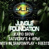 The Jungle Foundation Show live on groundlevelradio.co.uk with DJ Shadowplay 08/12/2018