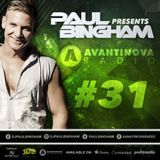Paul Bingham - AVANTINOVA RADIO #31 - Brand New Show