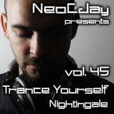 NeoCJay - Trance Yourself Nightingale 45 (July 2013)