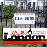 Tony Blackburn mid morning show on BBC Radio London O.B. (c. 1985) live from Eastenders set