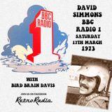 DAVID SIMMONS SOUL SHOW - RADIO ONE - 17-3-1973
