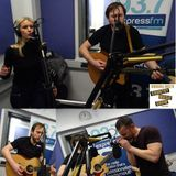 Russell Hill's Country Music Show on Express FM feat. Southerlies. 12/02/17
