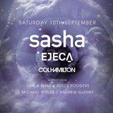 Sasha @ Lush! - DJ Reece Rodgers Warm Up Set - 10/09/16