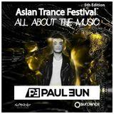 Paul Eun - Asian Trance Festival 5th Edition 2016-NOV-5