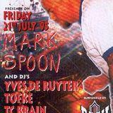 "Mark Spoon (part 1) at ""Solar Plexus"" @ Cherry Moon (Lokeren - Belgium) - 21 July 1995"